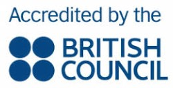 Logo British Council Acredited by